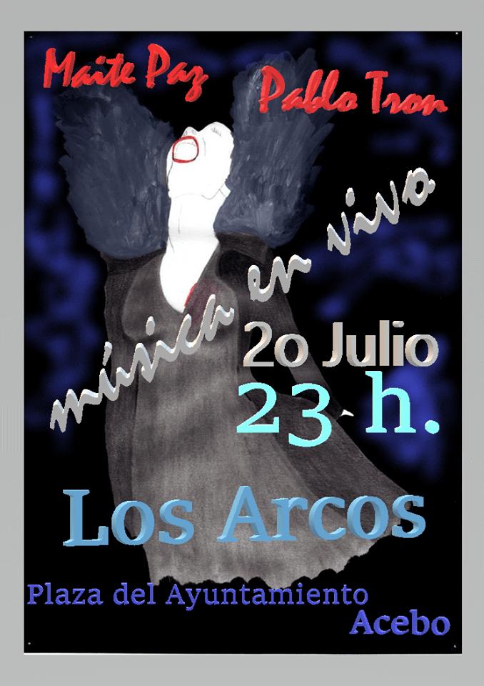 Maite Paz, 'La Mujer Cocodrilo' en concierto || ACEBO