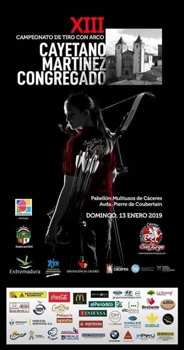 XIII Torneo Cayetano Martínez Congregado | Pabellón Multiusos de Cáceres