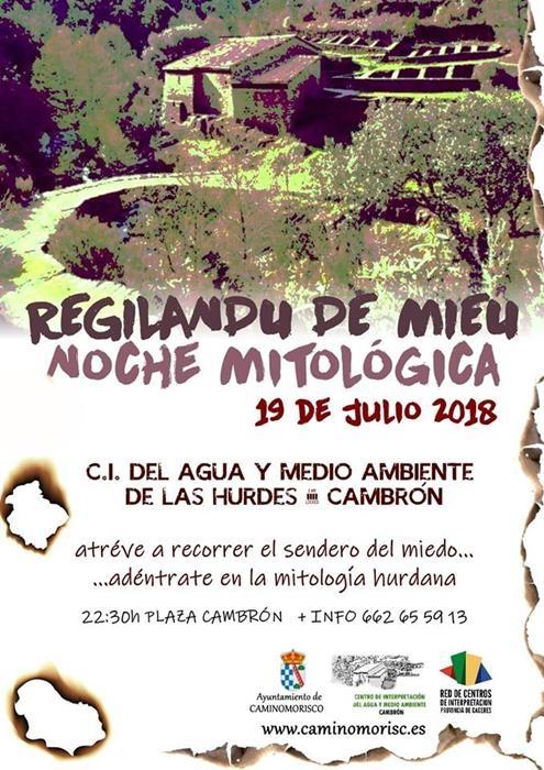 REGILANDU DE MIEU. NOCHE MITOLOGICA EN CAMBRÓN