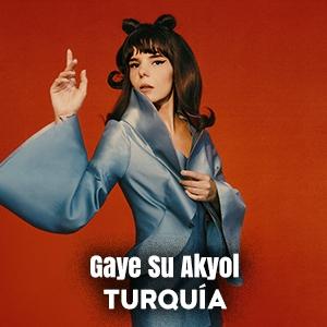 GAYE SU AKYOL (Turquía)