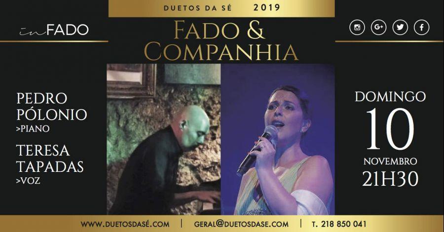 IN FADO – Fados & Companhia – Pedro Polónio & Teresa Tapadas