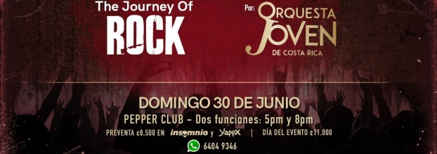The journey of rock. Orquesta Joven de Costa Rica