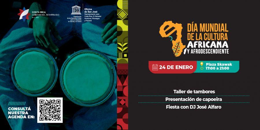 Día mundial de la cultura africana y de los afrodescendientes. Taller y fiesta