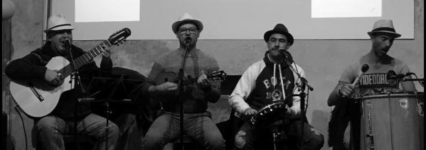 Samba de raiz com 'Os Legais do Samba'