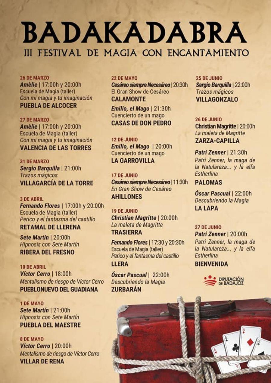 BADAKADABRA - Festival de Magia con Encantamiento (3a Edición)