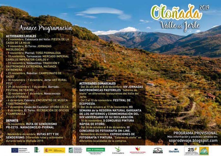 Otoñada en el Valle del Jerte | 2019