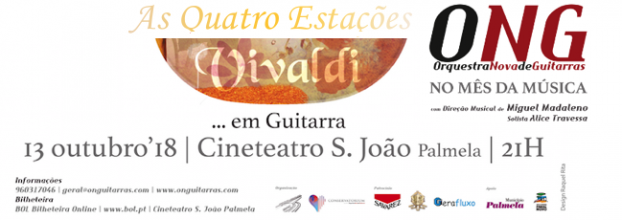 As Quatro Estações (Vivaldi) ... em Guitarras - ONG Orquestra Nova de Guitarras