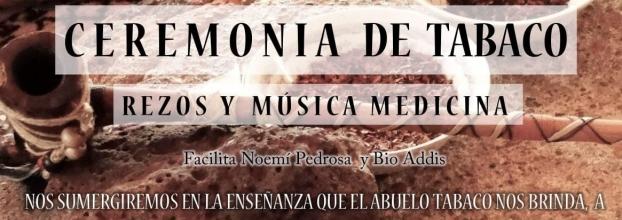 Círculo de tabaco y música medicina. Noemi Pedrosa & Bio Addis