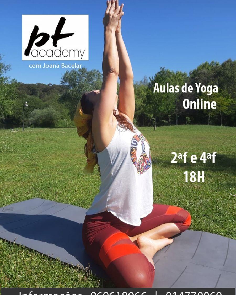 Aulas de Yoga Online com Joana Bacelar