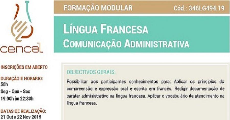 Língua Francesa - Comunicação Administrativa
