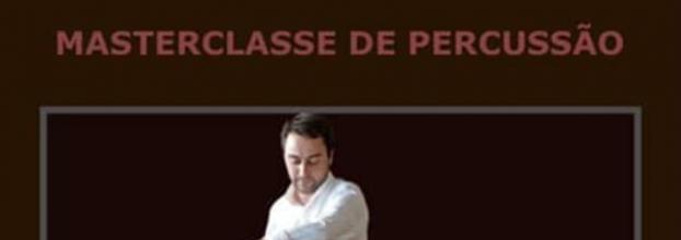 Masterclasse de Percussão com Vasco Ramalho