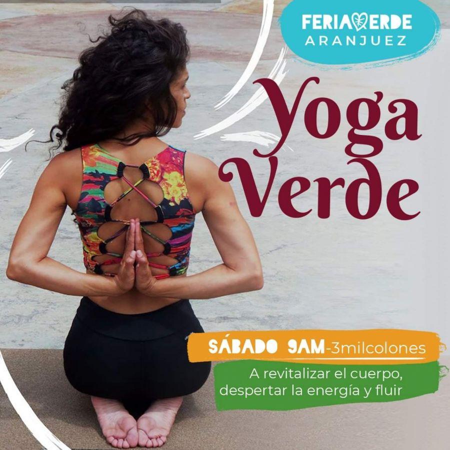 Yoga verde. Despertá la energía