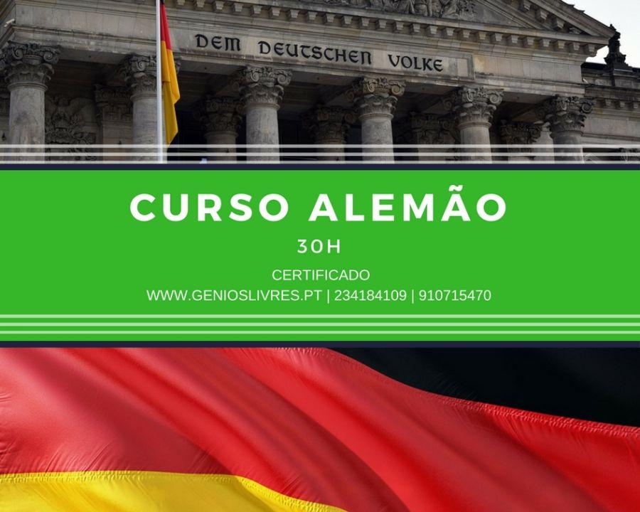 Curso de Nível de Alemão (A1) Iniciação Setembro 25 @ 7:00 pm