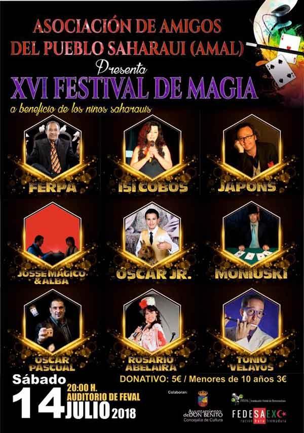 XVI Festival de Magia a beneficio de los niños saharauis