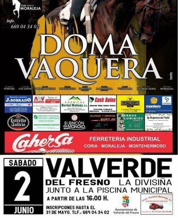 Doma vaquera en Valverde del Fresno