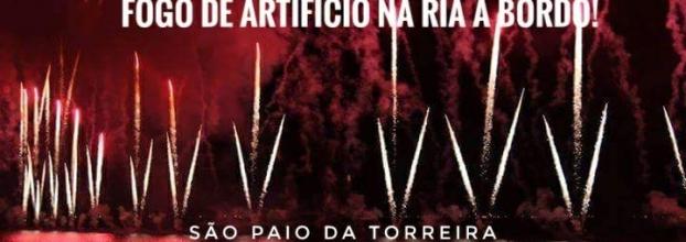 Fogo de Artifício na Ria - São Paio da Torreira 2018