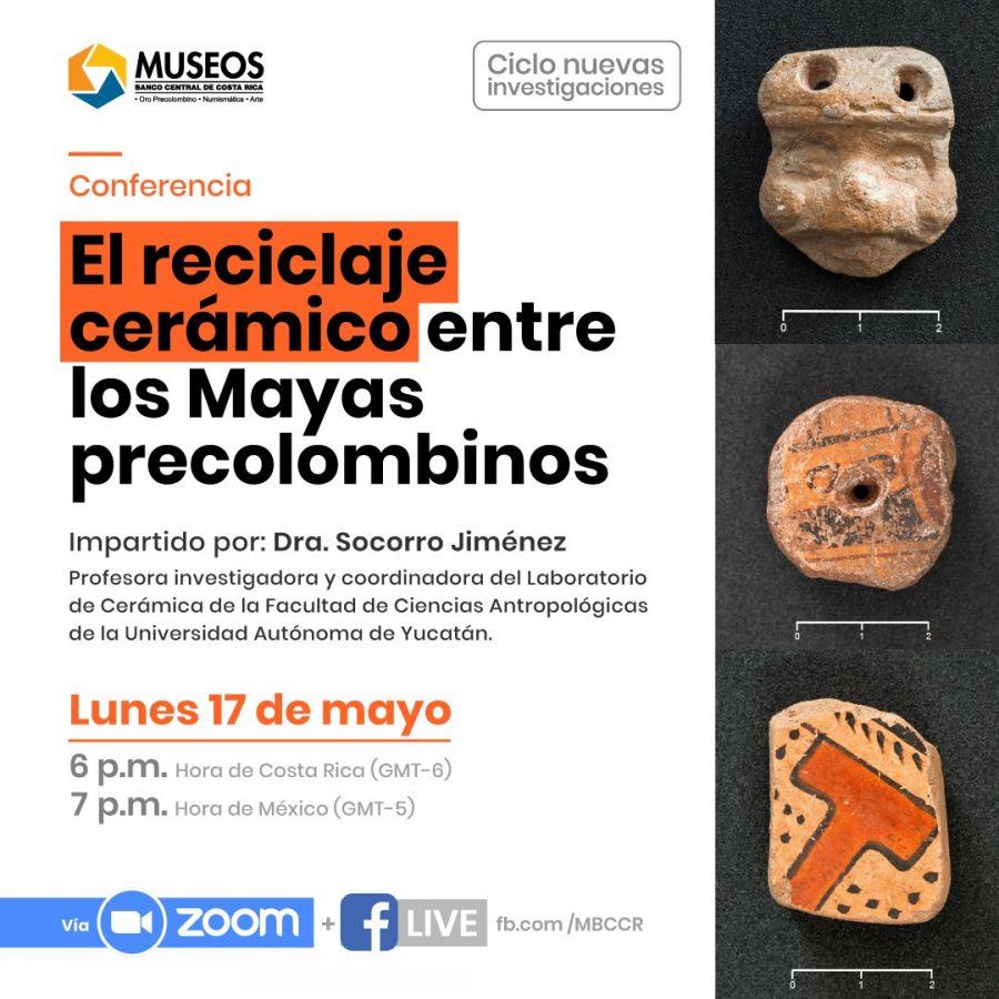 El reciclaje cerámico entre los Mayas precolombinos