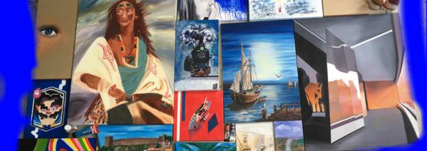 'Terças com traços' - Exposição Colectiva de Pintura
