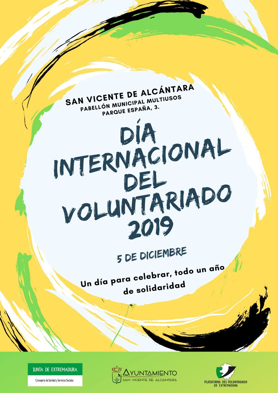 DÍA INTERNACIONAL DEL VOLUNTARIADO 2019