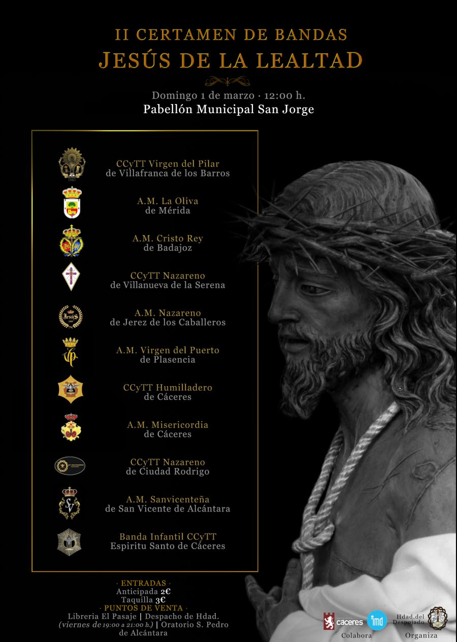 II Certamen de Bandas ''Jesús de la Lealtad''