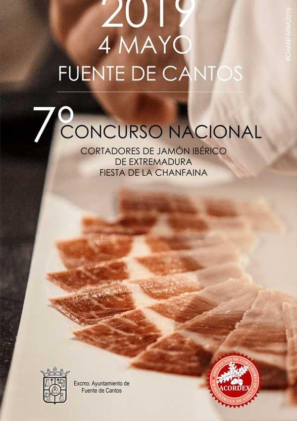 VII CONCURSO NACIONAL DE CORTADORES DE JAMÓN EN FUENTE DE CANTOS
