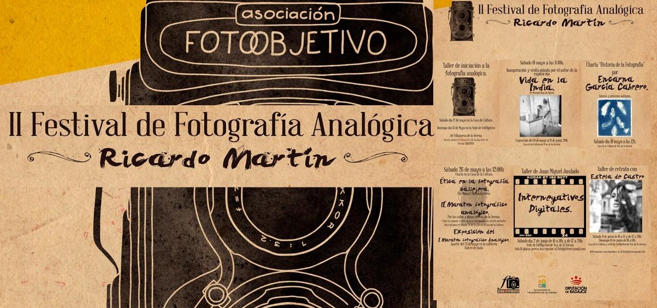 II Festival de Fotografía Analógica