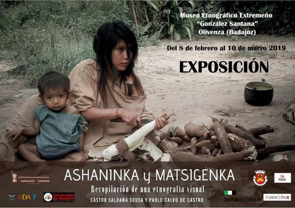 """Exposición fotográfica """"Etnias asháninka y matshiguenga de Perú. Recopilación de una etnografía visual""""."""