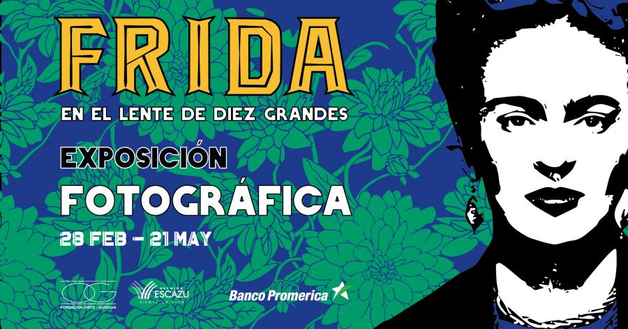 Frida, en el lente de diez grandes. Colectiva. Fotografía