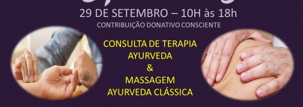 Consulta Terapia Ayurveda & Massagem Ayurveda Clássica