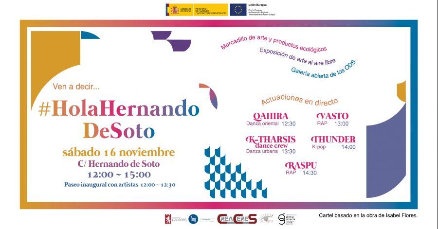 #HolaHernandoDeSoto