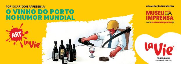 Exposição 'O Vinho do Porto no Humor Mundial'