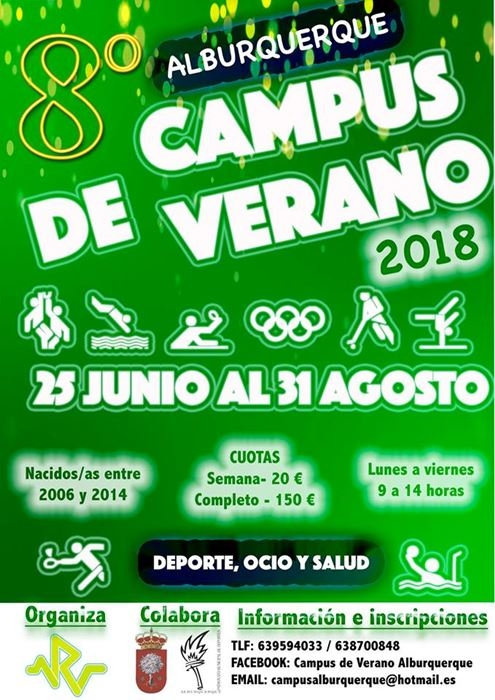 Campus de verano en Alburquerque