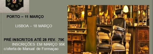 Workshop de Corte Masculino & Barba