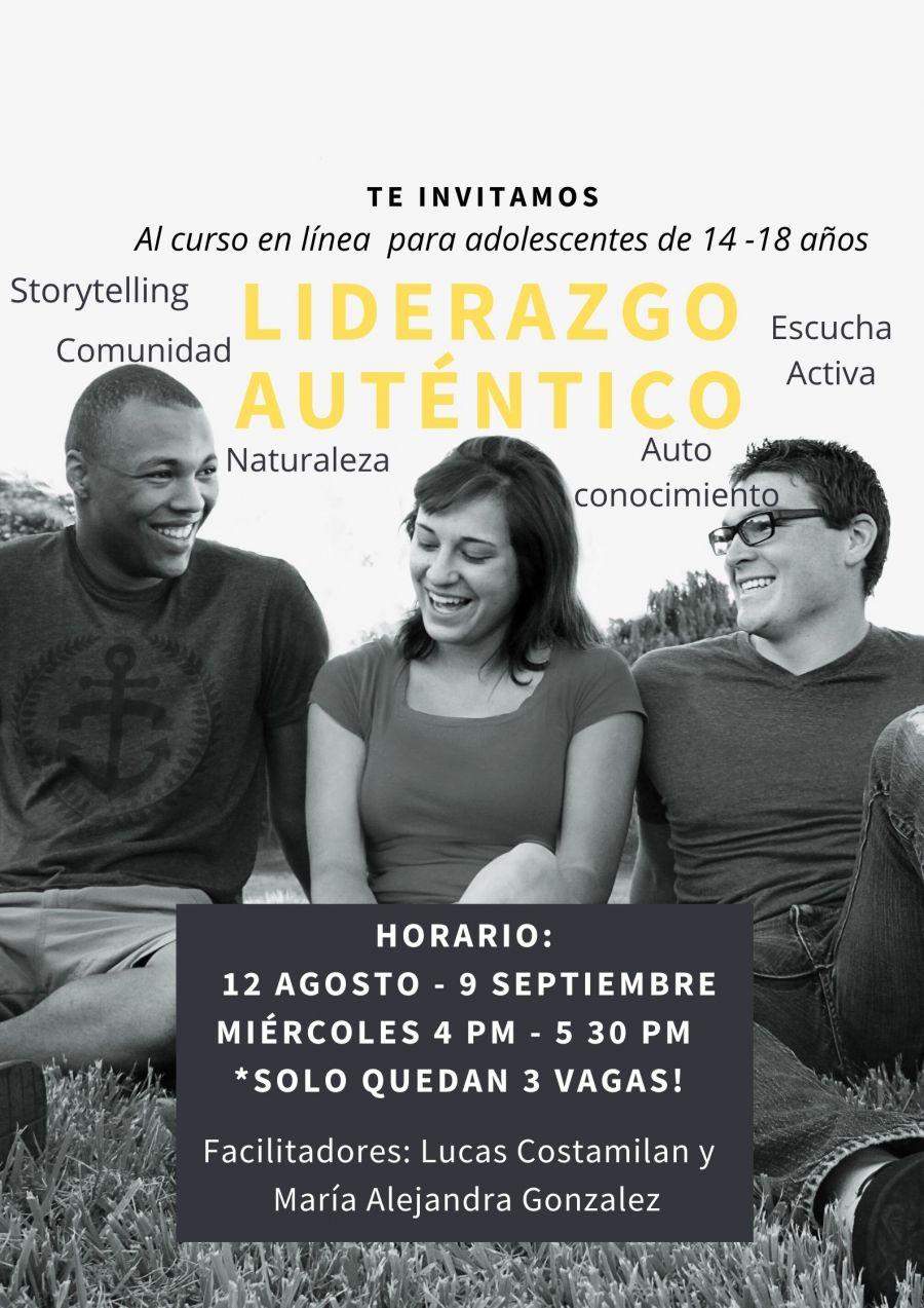 Curso en línea de Liderazgo Auténtico para Adolescentes