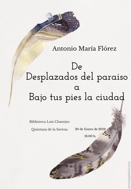 Antonio María Flórez en la Biblioteca Luis Chamizo