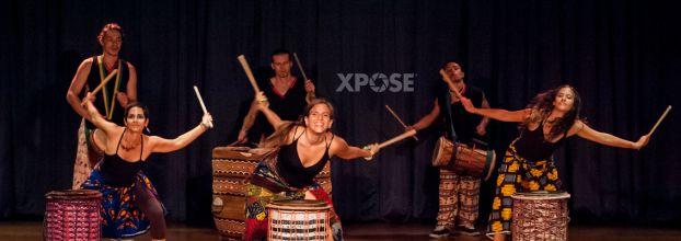 Won Boron: Nosotros bailamos. Espectáculo africano