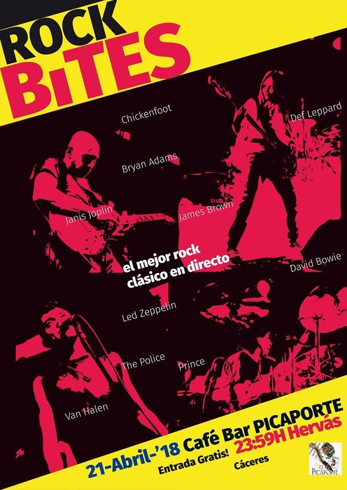 Concierto 'Rock Bites' en Bar Picaportes (Hervás)