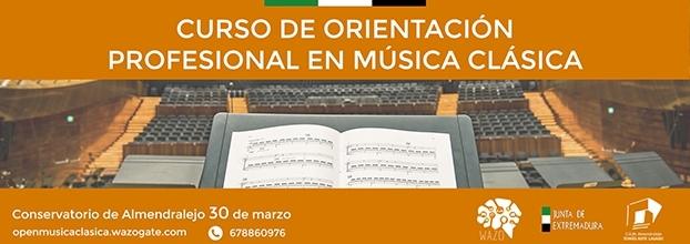 CURSO DE ORIENTACIÓN PROFESIONAL EN MÚSICA CLÁSICA