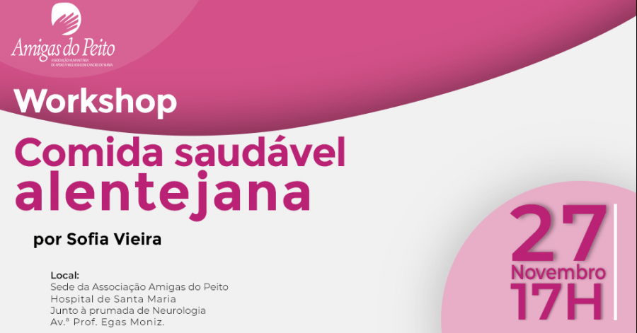 Workshop Comida Saudável Alentejana