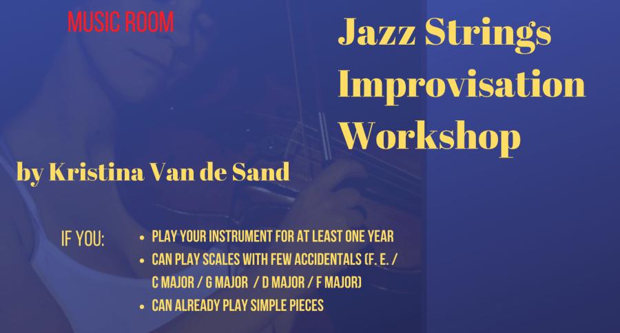 A 4 dates Jazz strings improvisation workshop by Kristina Van de Sand