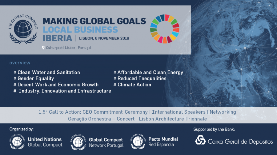 International Conference   Making Global Goals Local Business - Iberia