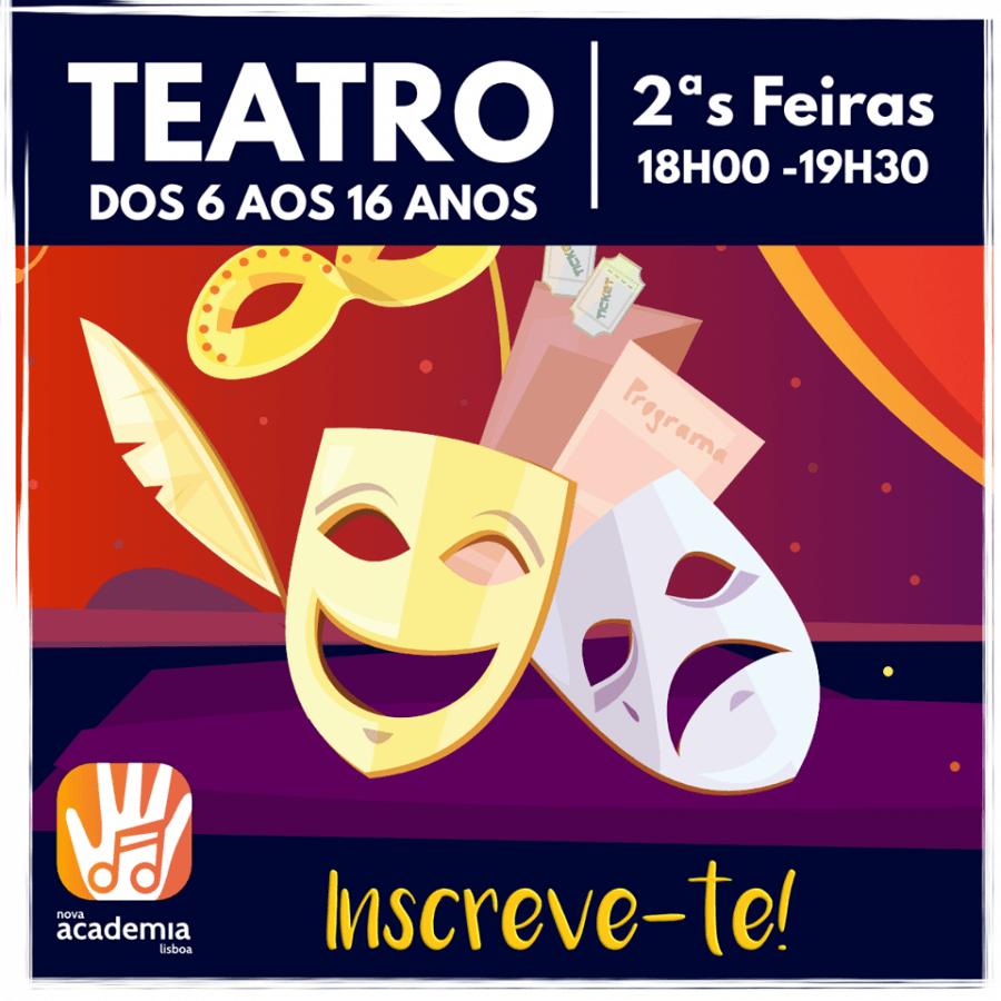 Aulas de Teatro, em Benfica