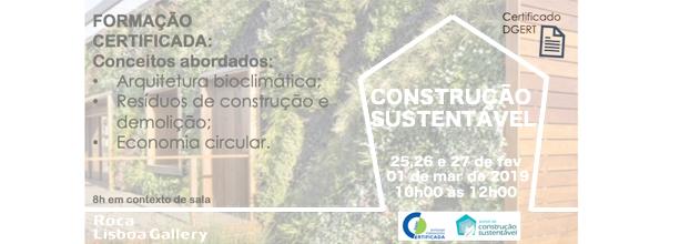 Formação em Construção Sustentável