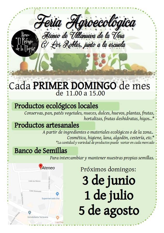 Feria Agroecológica || Ateneo Villanueva de la Vera