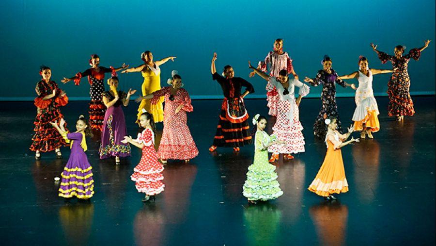 El flamenco hecho mujer, de Paulina Peralta.