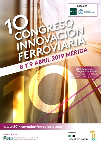10 Congreso de Innovación Ferroviaria