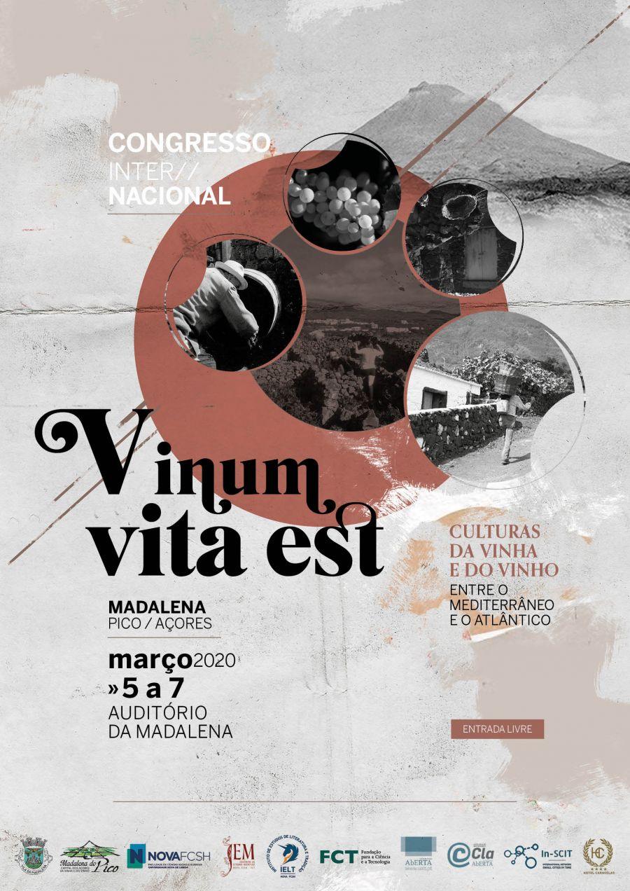 Vinum Vita Est - Culturas da Vinha e do Vinho Entre o Mediterrâneo e o Atlântico