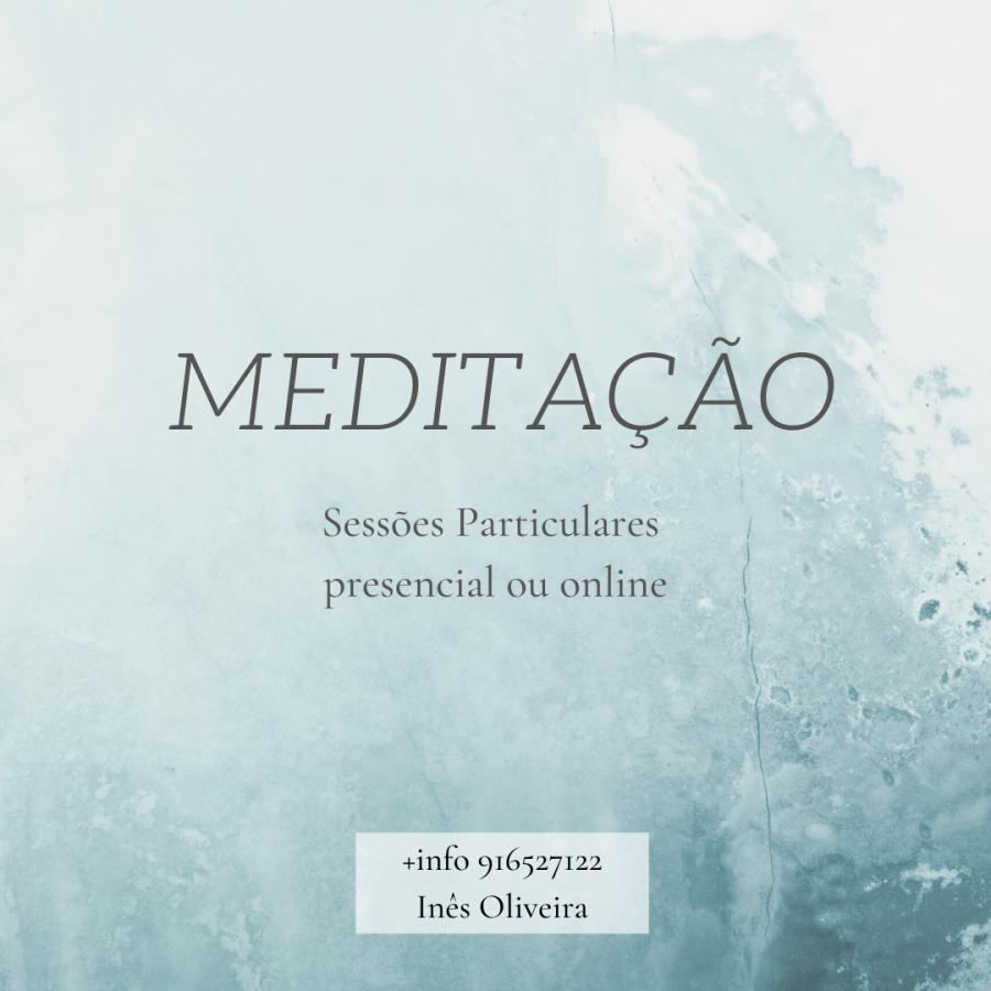 Meditação - sessões particulares