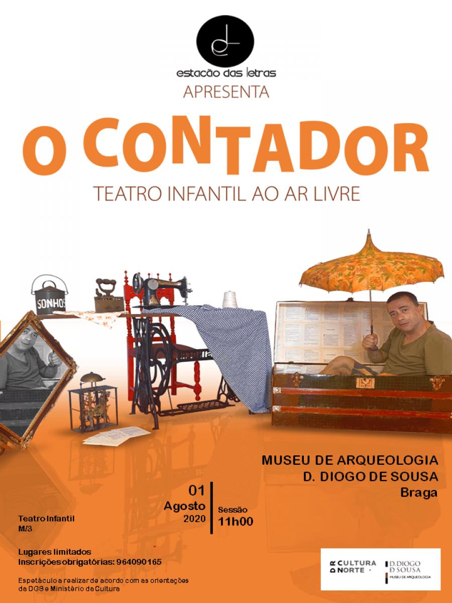 O Contador | Teatro para a infância