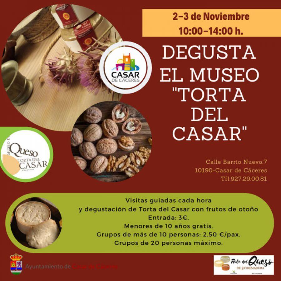 Degusta el Museo en Casar de Cáceres